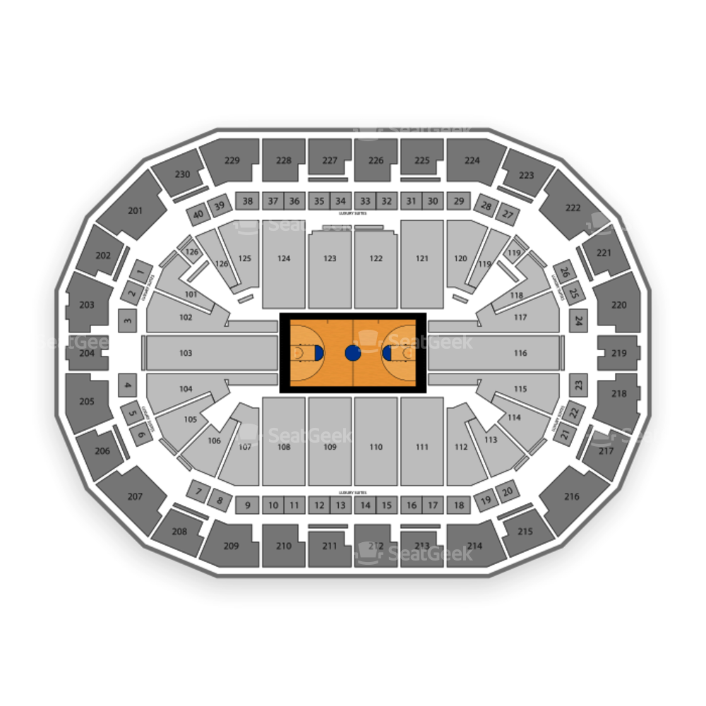 Fresno State Bulldogs Basketball Seating Chart