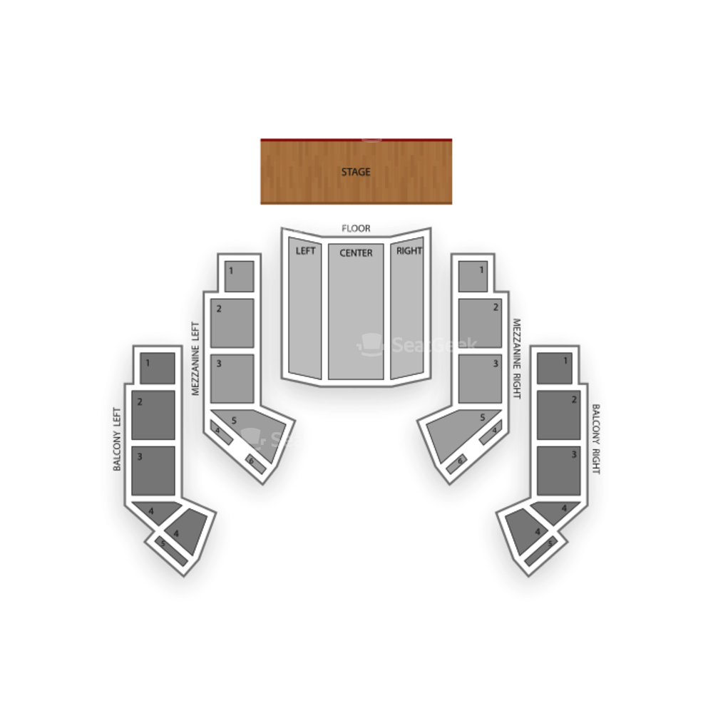 The Avalon Ballroom At Niagara Fallsview Casino Resort Seating Chart Comedy