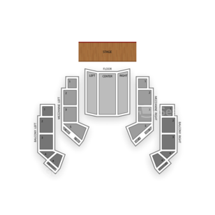 The Avalon Ballroom At Niagara Fallsview Casino Resort Seating Chart Classical Orchestral Instrumental