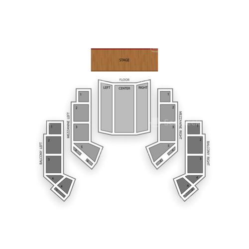 The Grand Hall At Niagara Fallsview Casino Resort Seating Chart Concert