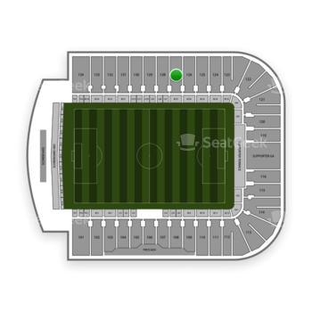 Mls at Avaya Stadium Section 127 View