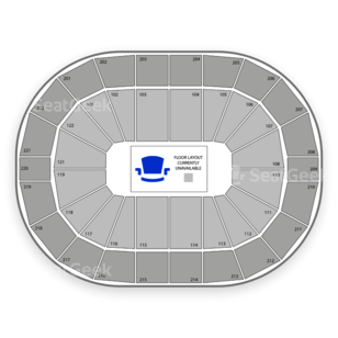 Chaifetz Arena Seating Chart Rodeo