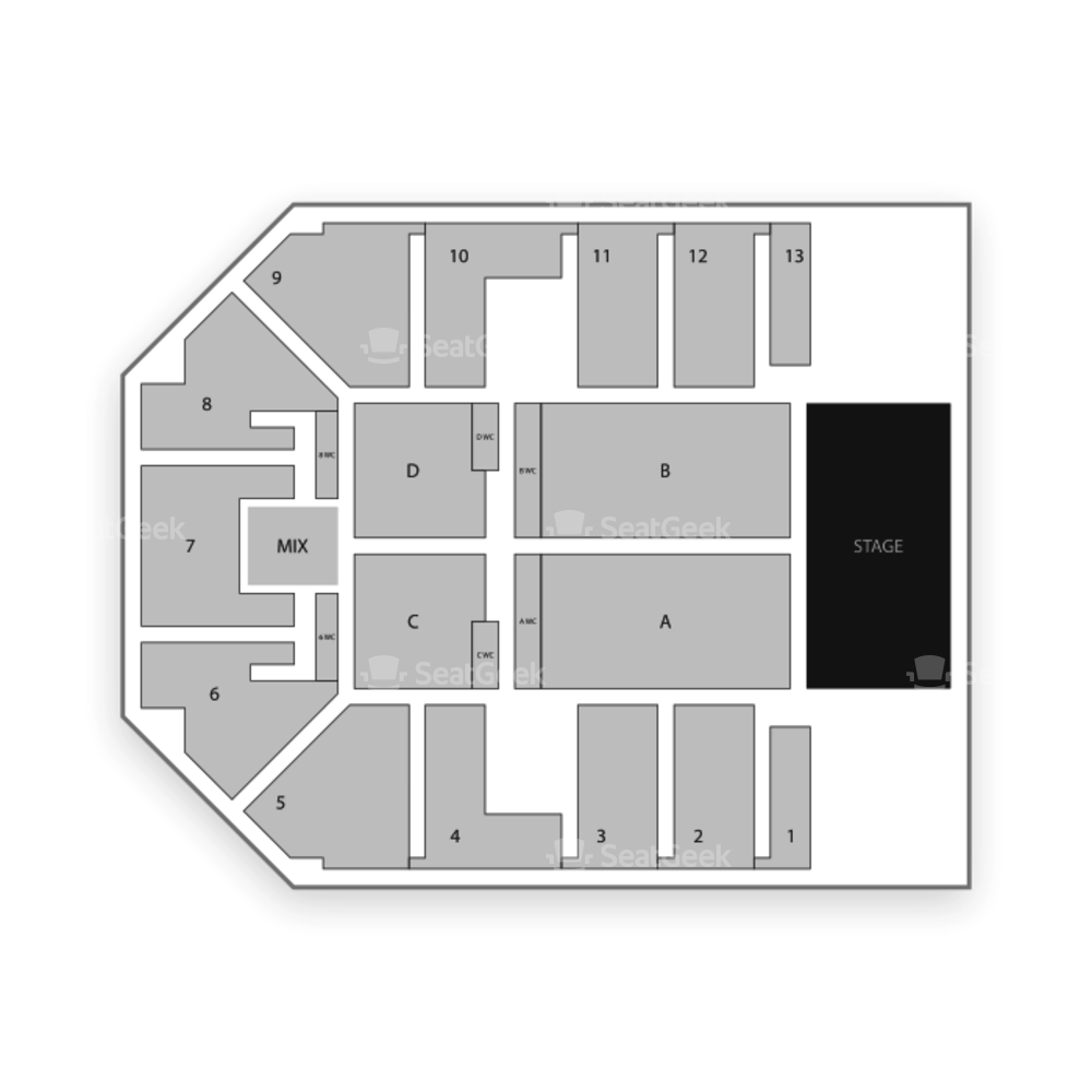 Seminole Hard Rock Hotel and Casino Tampa Seating Chart Concert