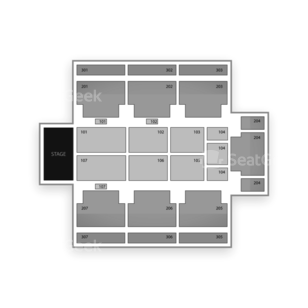 Seminole Hard Rock Hotel & Casino Seating Chart Dance Performance Tour