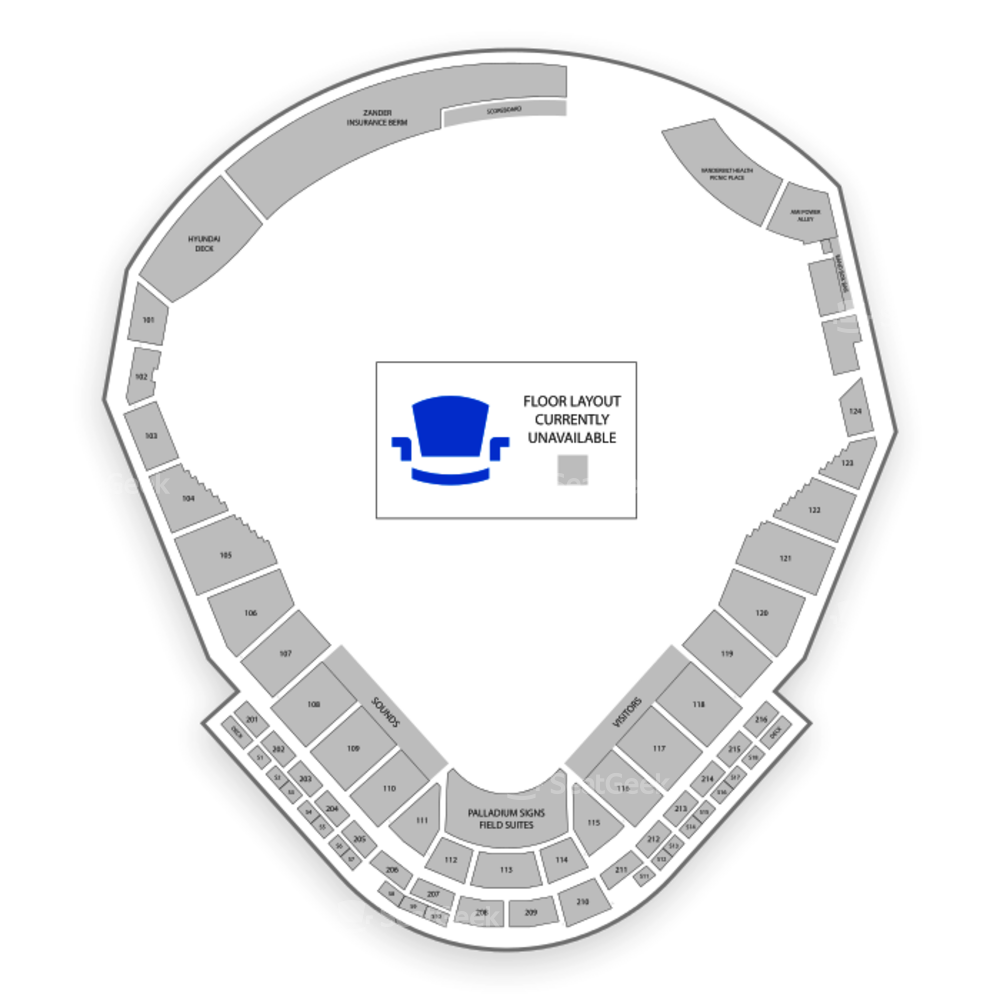 First Tennessee Park Seating Chart Concert
