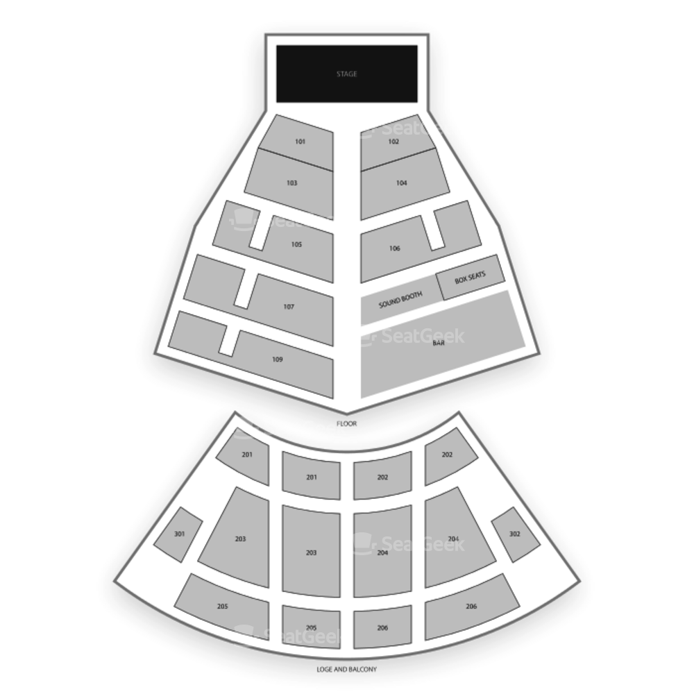 College Street Music Hall Seating Chart Theater