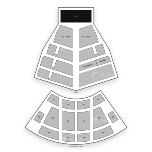 College Street Music Hall Seating Chart Concert