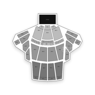 The Greek Theatre Seating Chart Comedy