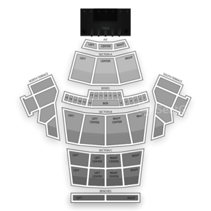 Greek Theatre Seating Chart Theater