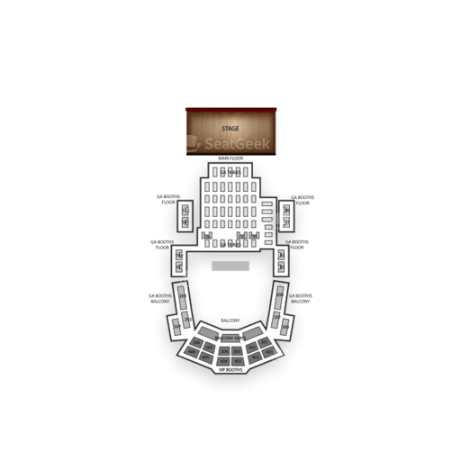 Howard Theatre Seating Chart Concert