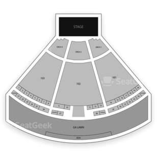 Ascend Amphitheater Seating Chart Classical