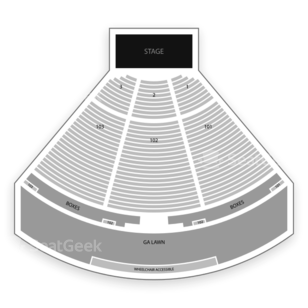 Ascend Amphitheater Seating Chart Music Festival