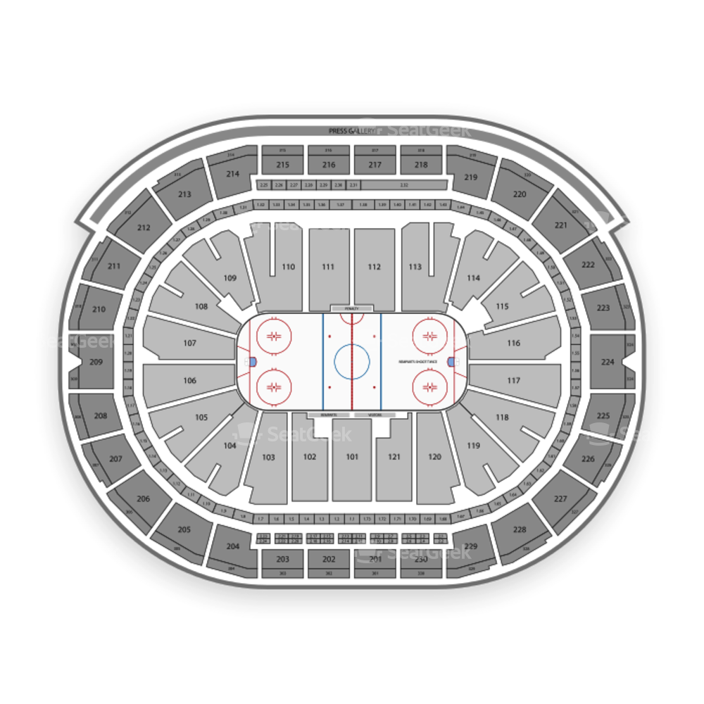 Montreal Canadiens Seating Chart