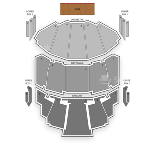 Milwaukee Theatre Seating Chart Theater