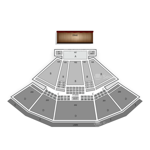 Susquehanna Bank Center seating chart Rob Zombie
