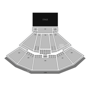 Susquehanna Bank Center Seating Chart Concert