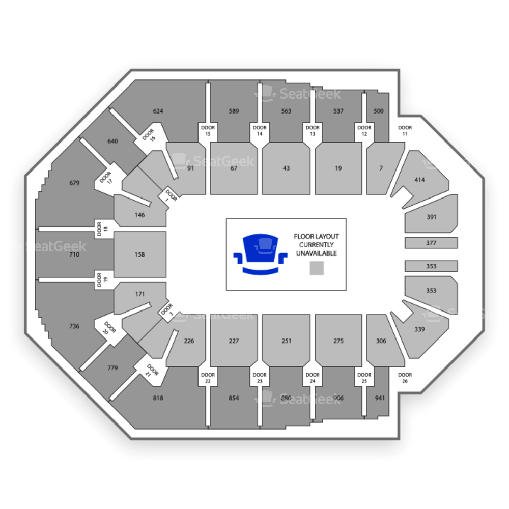 Spark Arena Seating Chart Concert