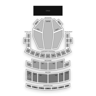 Connor Palace Theatre Seating Chart Theater