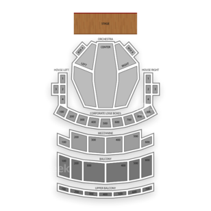 Connor Palace Theatre Seating Chart Dance Performance Tour
