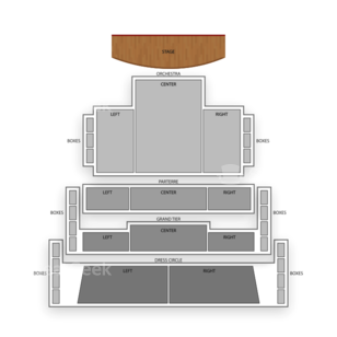 Ferguson Center for the Arts Seating Chart Theater