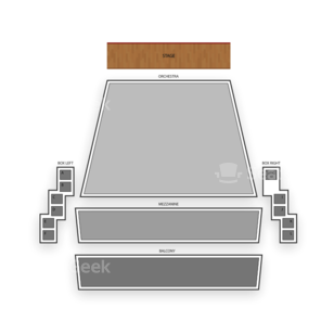 McCallum Theatre Seating Chart Theater
