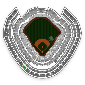 New York Yankees at Yankee Stadium Grandstand Level 423 View