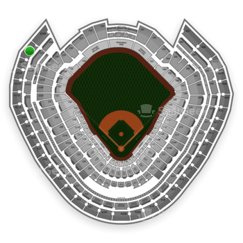 MLB at Yankee Stadium Grandstand Level 434 A View