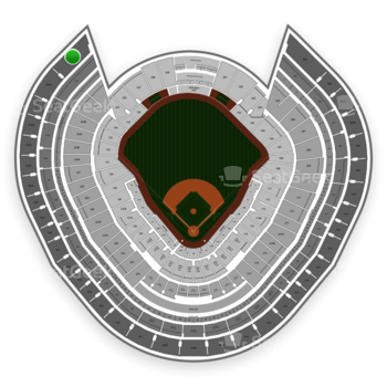 New York Yankees at Yankee Stadium Grandstand Level 434 B View