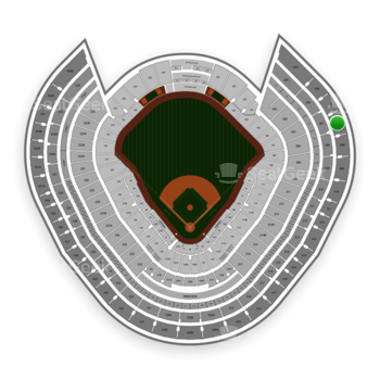 New York Yankees at Yankee Stadium Grandstand Level 407 B View