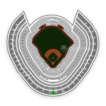 New York Yankees at Yankee Stadium Grandstand Level 420 B View