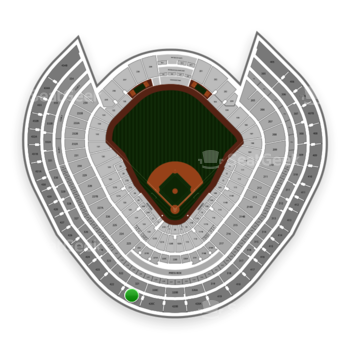 New York Yankees at Yankee Stadium Grandstand Level 421 View