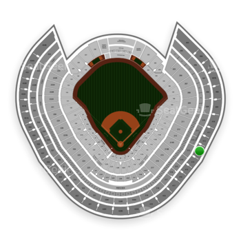 New York Yankees at Yankee Stadium Grandstand Level 413 View