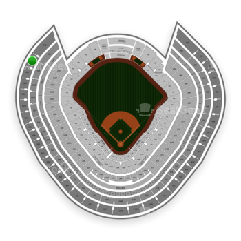 New York Yankees at Yankee Stadium Grandstand Level 434 A View