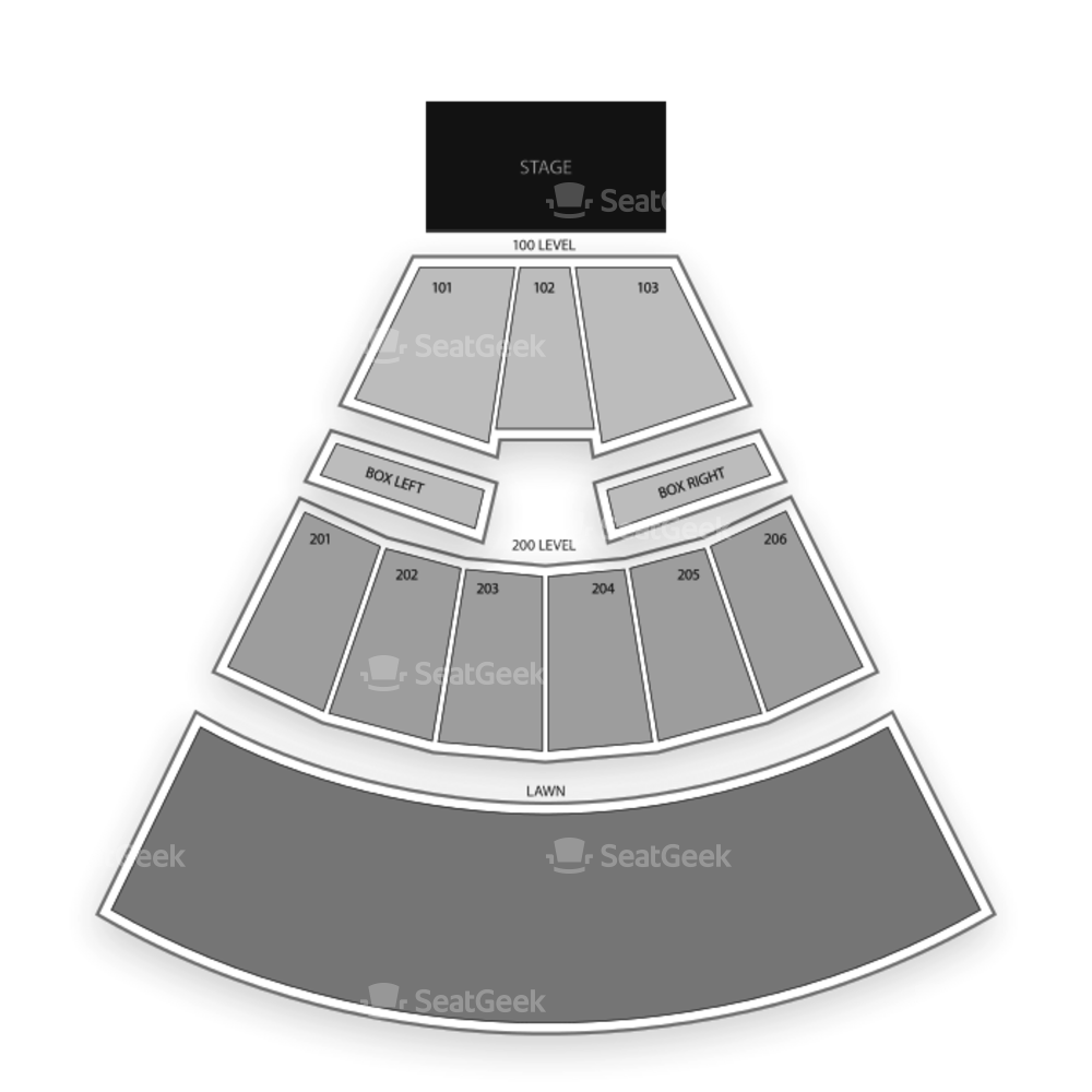 The Pavilion at Montage Mountain Seating Chart Concert