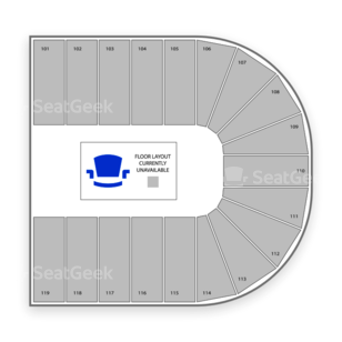 Orleans Arena Seating Chart Theater