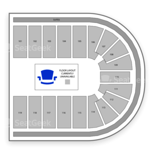 Orleans Arena Seating Chart Family