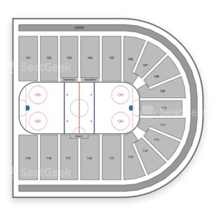 US Hockey Hall of Fame Game Seating Chart