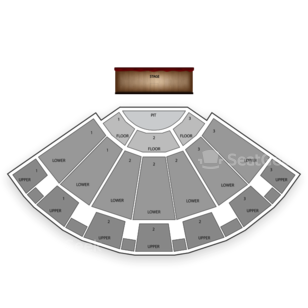 Bellco Theatre Seating Chart Comedy