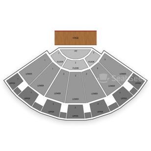 Bellco Theatre Seating Chart Concert