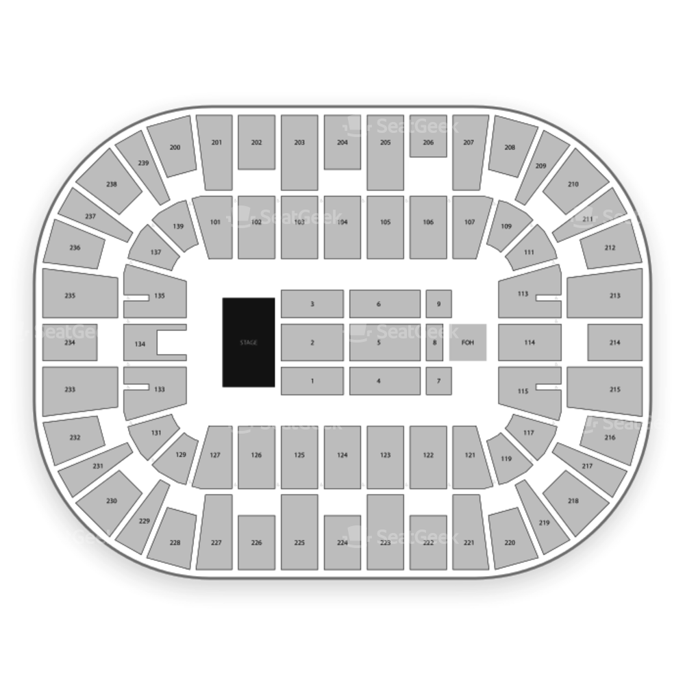 Wolstein Center Seating Chart Concert