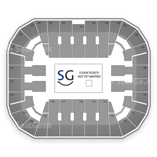 EagleBank Arena Seating Chart MMA