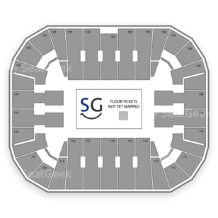 EagleBank Arena Seating Chart Music Festival