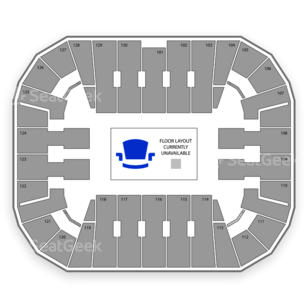 EagleBank Arena Seating Chart NCAA Football