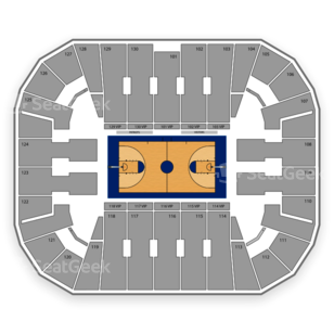George Mason Patriots Basketball Seating Chart