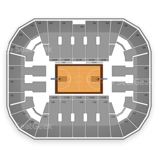 George Mason Patriots Womens Basketball Seating Chart