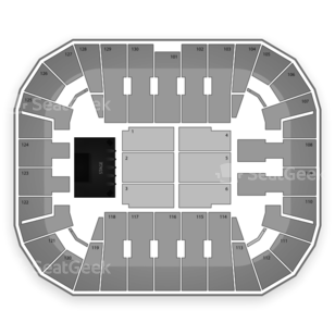 Patriot Center Seating Chart Concert
