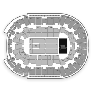 Dunkin' Donuts Center Seating Chart Comedy