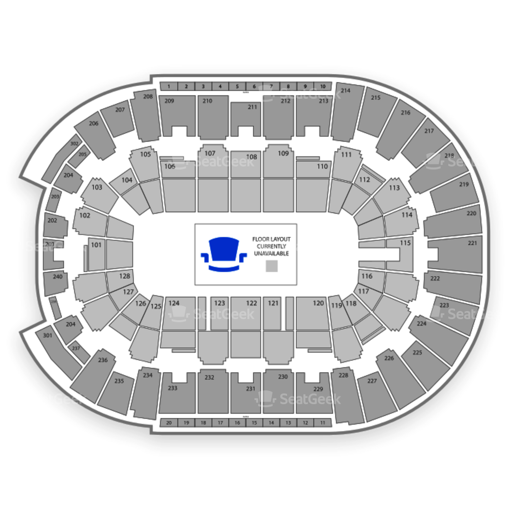 Dunkin' Donuts Center Seating Chart NCAA Football