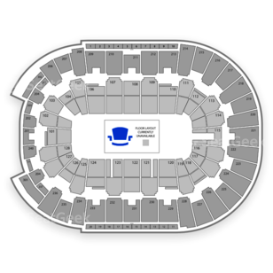 Dunkin' Donuts Center Seating Chart Parking
