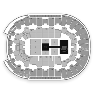 Dunkin' Donuts Center Seating Chart Wwe